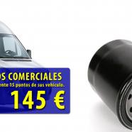 Oferta aceite y filtros furgonetas