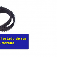 Revise el estado de sus correas